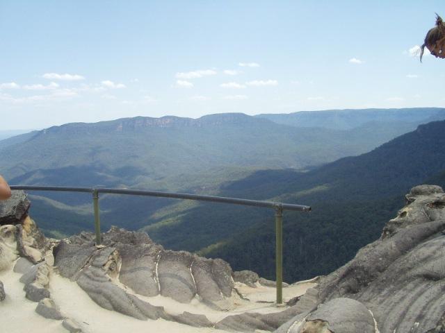 vyhlídka v Blue Mountains