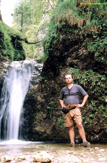 Já (Radim Dostál) v Horných Dierách v pohoří Malá Fatra