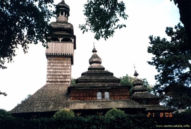 Kostelíček v Užhorodském skanzenu
