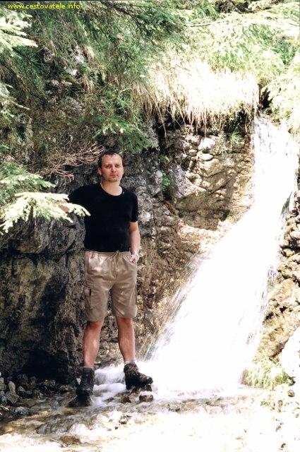 Já (Radim Dostál) ve Stratenském kaňonu