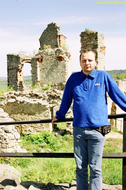 Já (Radim) na hradě Kušumberk