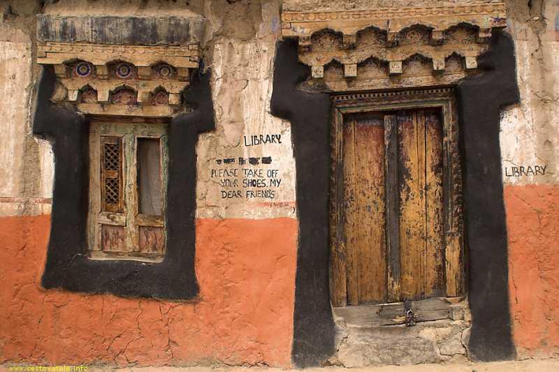 Knihovna v klášteře Tikse
