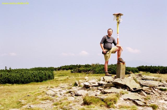 Já (Radim Dostál) na vrcholu Pilsko