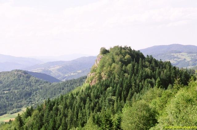 Výhled z vrcholu Wysoki Wierch