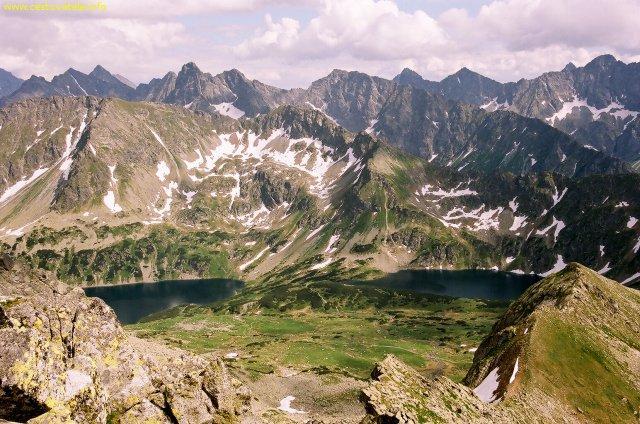 Polské Vysoké Tatry - z vrcholu Maly Kozi Wierch