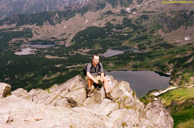 Já (Radim Dostál) u vrcholu Beskyd - Vysoké Tatry, Polsko