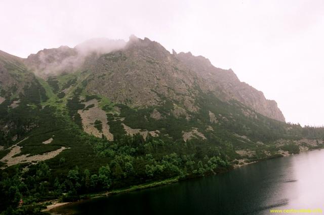 Vrchol Ostrva v mlze - Vysoké Tatry
