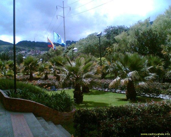 Bogota - okolí hotelu