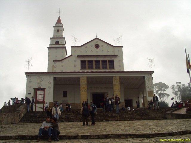 kostel na Moseratti hill