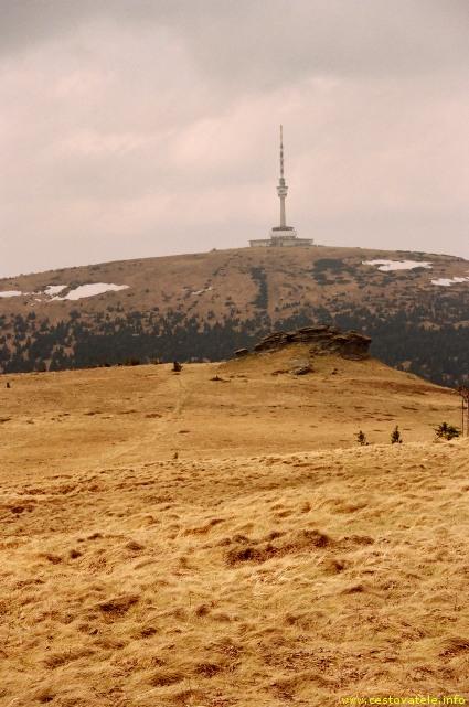 Praděd cestou na Ovčárnu - pohoří Jeseníky