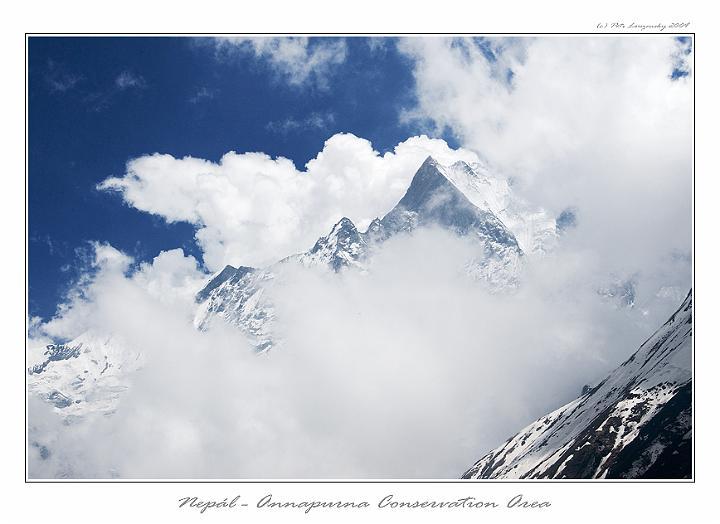 Machhapuchhare, Nepál