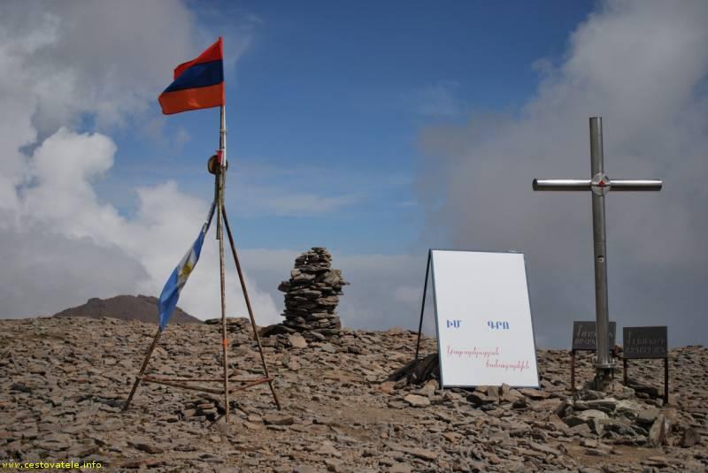 Jižní vrchol Aragacu