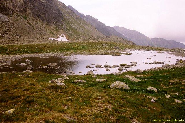 Vodní plochy před Veľkým Hincovým plesem - Vysoké Tatry