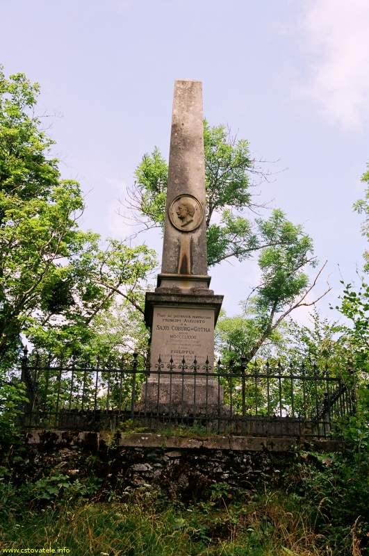 Pomník rodu Coburgovců - Muránská planina