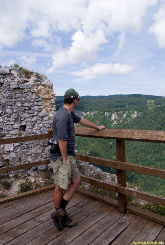 Já (Radim Dostál), Muránský hrad, výhled