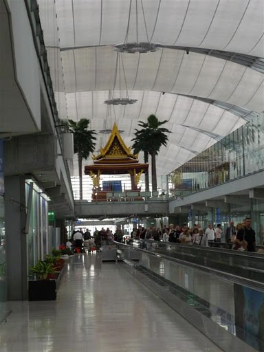 Bangkokské letiště Suvarnabhumi