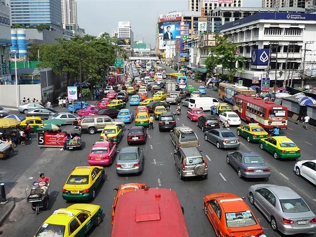 Bangkok - doprava