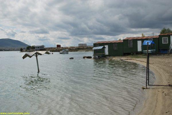 Sevan - pláž
