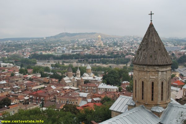 Pohled na Tbilisi