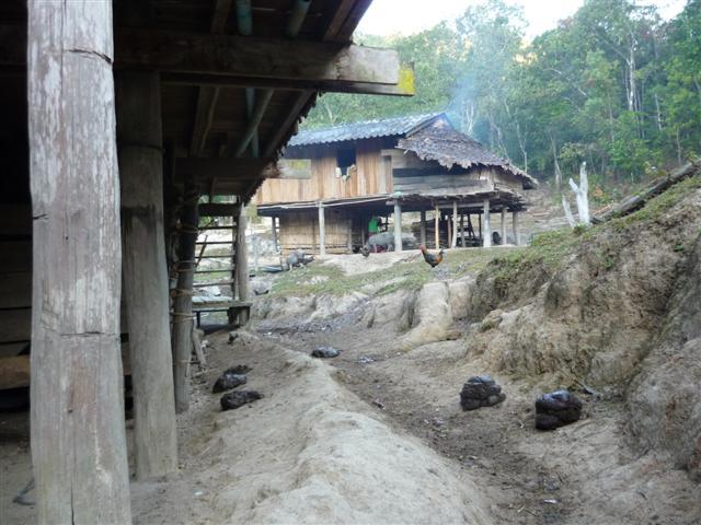 Thajsko - vesnice