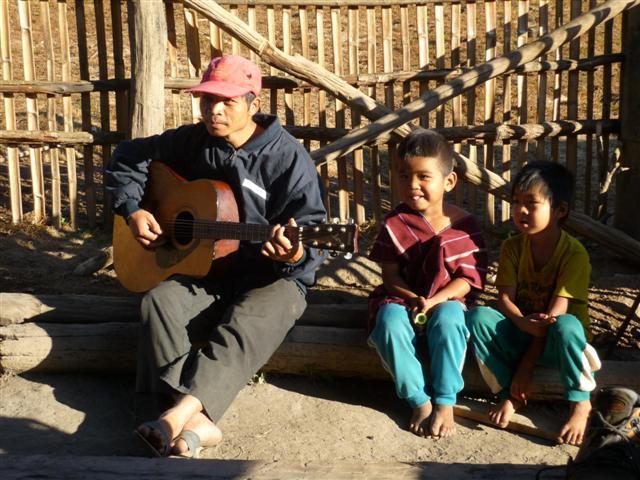 Thajsko - náčelník vesnice