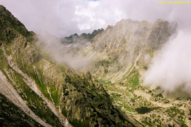 Z vrcholu Predné Solisko - Vysoké Tatry