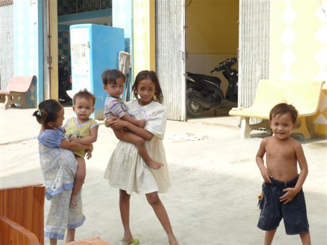 Kambodžské děti
