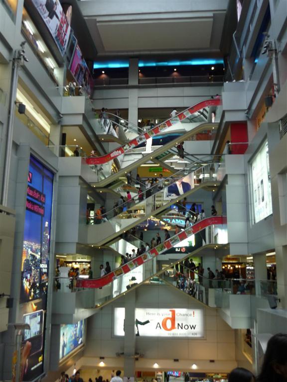 Bangkok - nákupní centrum