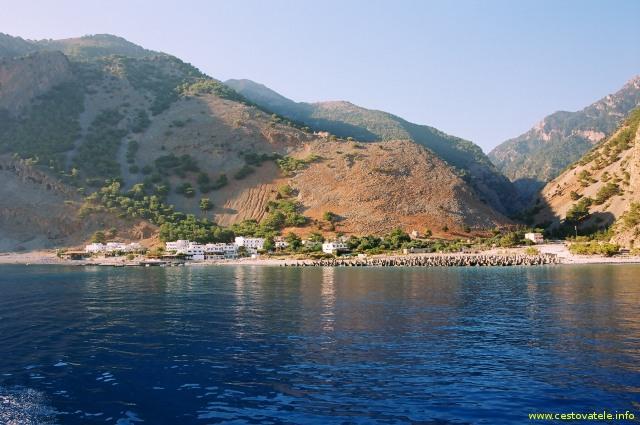 Agia Roumeli - Kréta