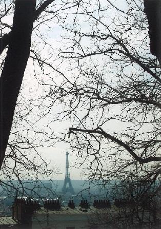 Výhled z Montmartre