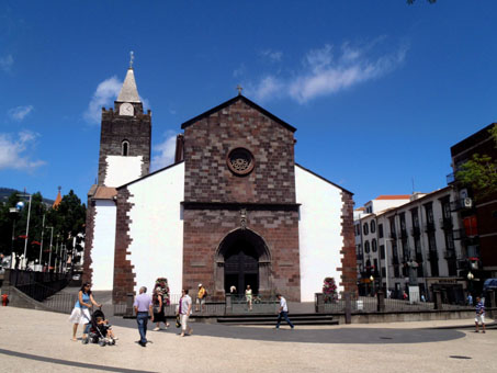 Katedrála Sé ve Funchalu