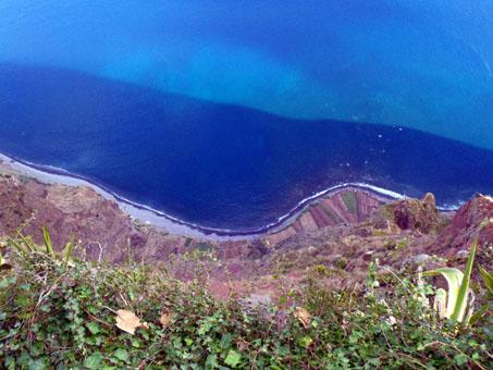 Pohled z útesu Cabo Girão