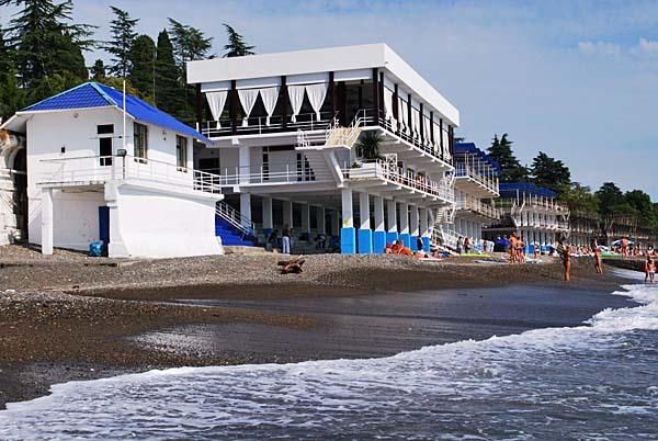 Pláž v Suchumi