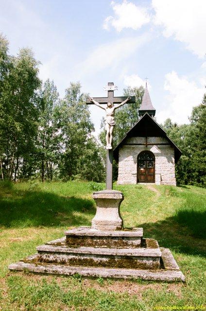Kaple Panny Marie Pomocné - Strážný, Šumava