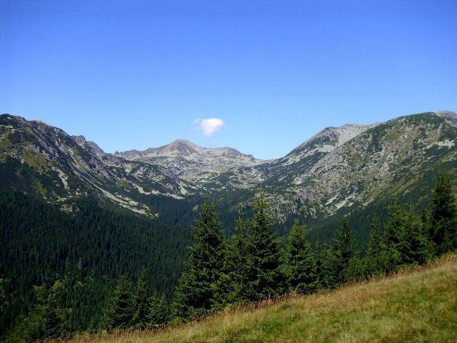 Panorama pohoří Retezat