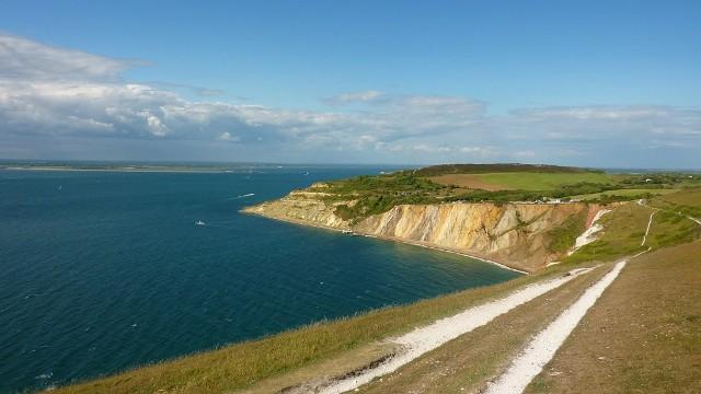 Isle of Wight - pobřeží