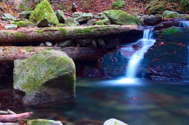 Satinský vodopád - Moravskoslezské Beskydy