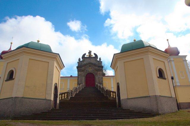 Klášter na Kopečku (Hora Matky Boží) - kousek od města Králíky