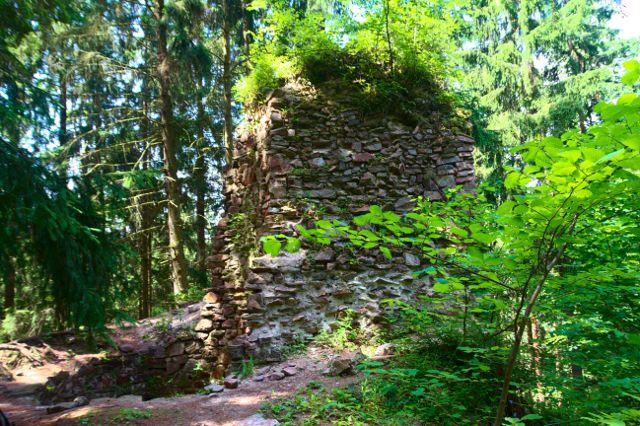 Zřícenina hradu Aueršperk