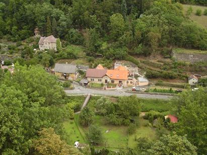 Křivoklát - výhled z hradu