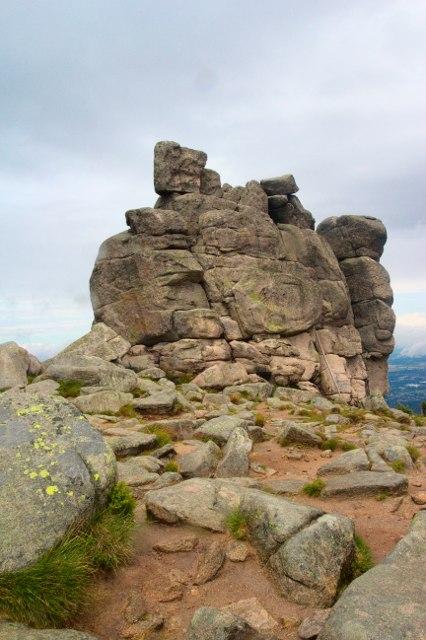 Polední kameny – Słonecznik, Krkonoše