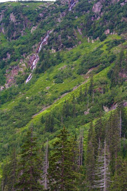Pančavský vodopád z Labského dolu