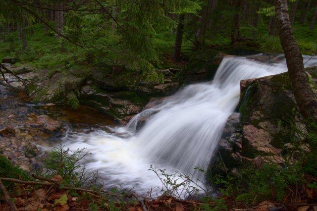 Malý Labský vodopád - Krkonoše
