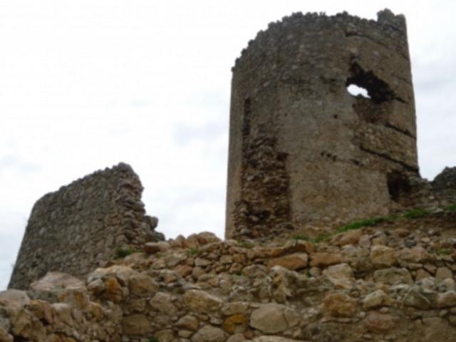 Pozůstatky opevnění pevnosti Čembalo