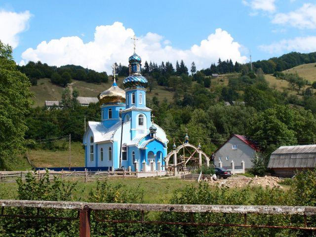 Kostel ve Vilšanech - Ukrajina
