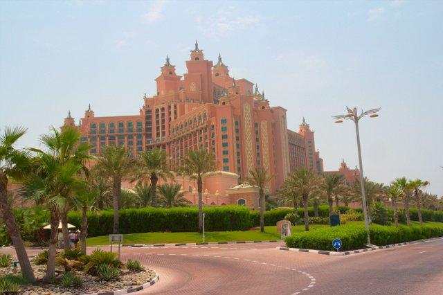 Hotel Atlantis na Palmovém ostrově Palm Jumeirah - Dubaj
