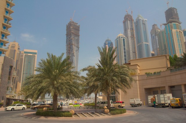 Mrakodrapy v Dubaj Marina