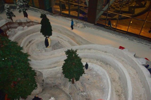 Ski Dubai - bobová dráha