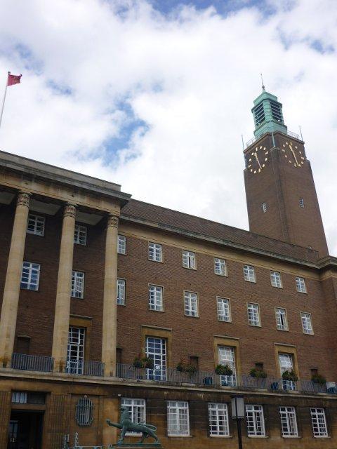 Budova radnice - Norwich