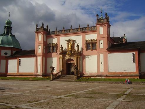 Svatá hora a její hlavní vchod